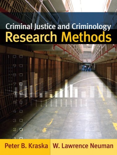 Criminal Justice and Criminology Research Methods 9780205485703