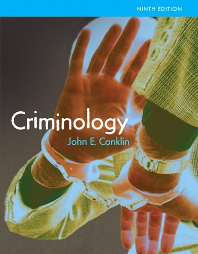 Criminology: 9780205464401