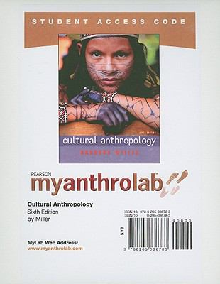 Cultural Anthropology Student Access Code 9780205036783