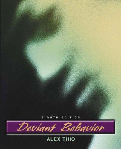 Deviant Behavior 9780205454785