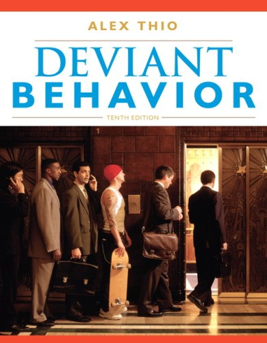 Deviant Behavior 9780205693238
