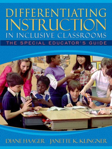 Differentiating Instruction in Inclusive Classrooms: The Special Educator's Guide 9780205340743