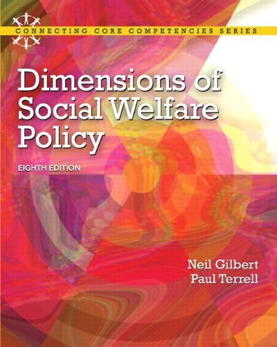 Dimensions of Social Welfare Policy 9780205096893