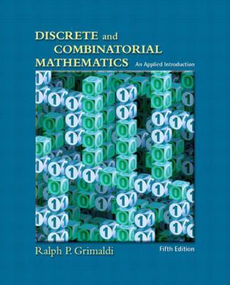 Discrete and Combinatorial Mathematics 9780201726343
