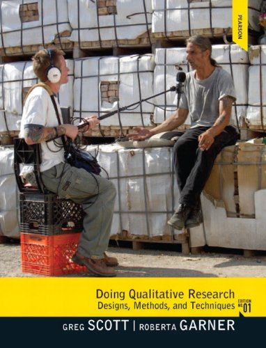 Doing Qualitative Research: Designs, Methods, and Techniques 9780205695935