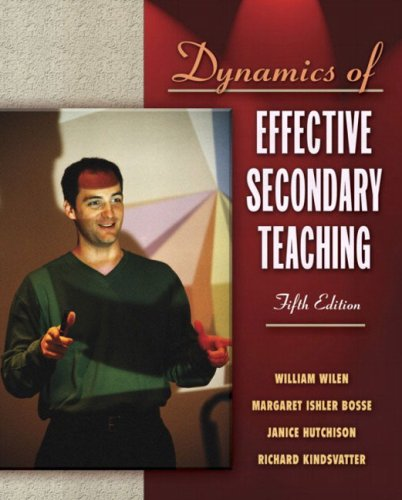 Dynamics of Effective Secondary Teaching, Mylabschool Edition 9780205464937
