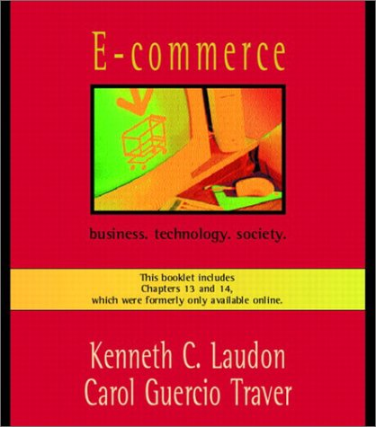E-Commerce: Business. Technology. Society. 9780201748154