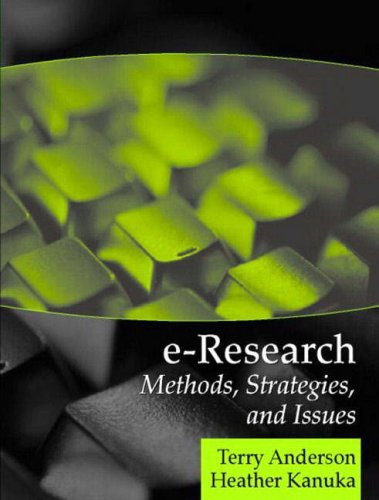 E-Research: Methods, Strategies, and Issues 9780205343829