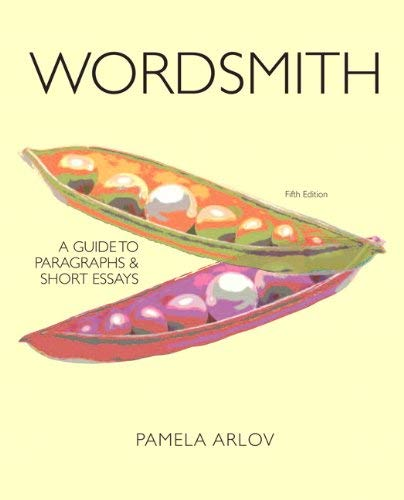 Wordsmith: A Guide to Paragraphs and Short Essays 9780205060238