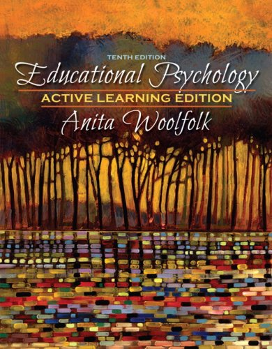 Educational Psychology, Active Learning Edition 9780205542789