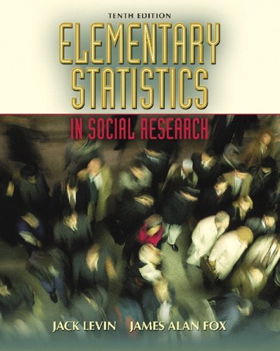 Elementary Statistics in Social Research 9780205459582