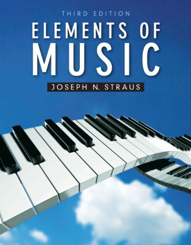Book Cover Images Isbn : Elements of music by joseph n straus reviews