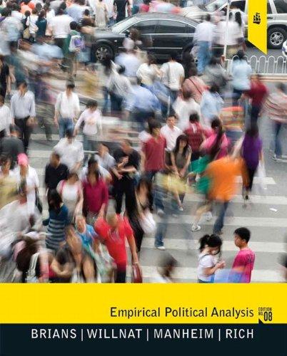 Empirical Political Analysis: Quantitative and Qualitative Research Methods 9780205791217