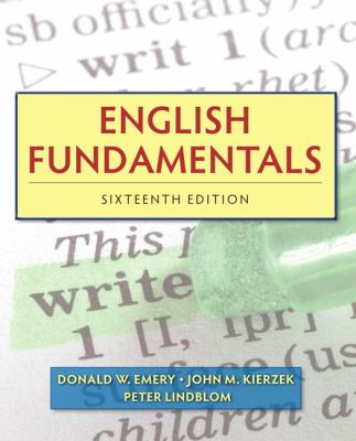 English Fundamentals - 16th Edition