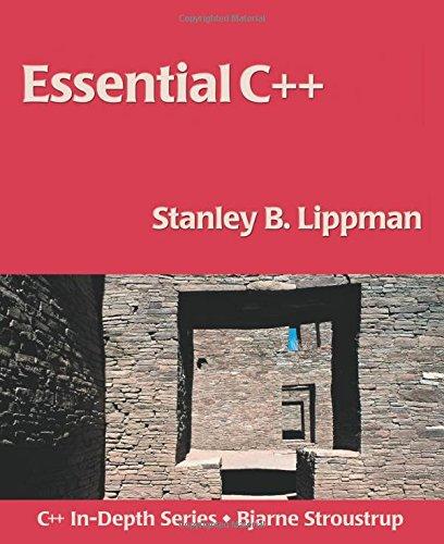 Essential C++ 9780201485189
