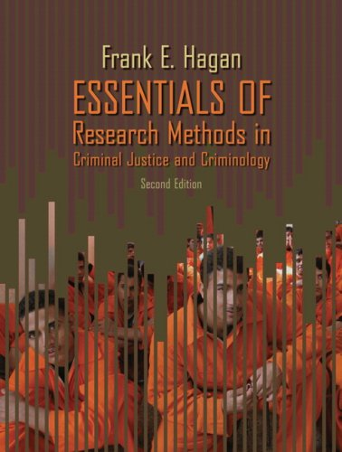 Essentials of Research Methods in Criminal Justice and Criminology 9780205507559