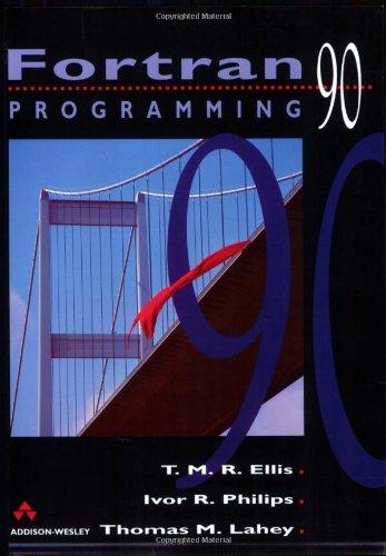FORTRAN 90 Programming 9780201544466
