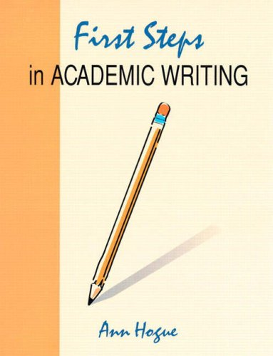 First steps in academic writing, second edition. Answer key