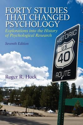 Forty Studies That Changed Psychology 9780205918393