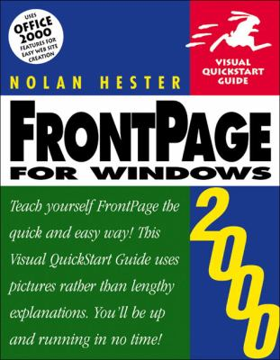 FrontPage 2000 for Windows: Visual QuickStart Guide 9780201354577