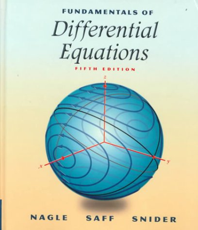 Fundamentals of Differential Equations 9780201338683