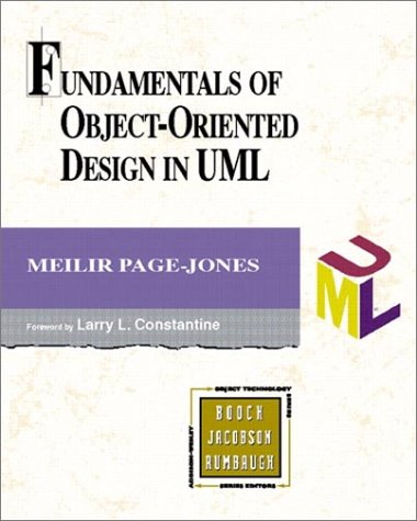 Fundamentals of Object-Oriented Design in UML 9780201699463
