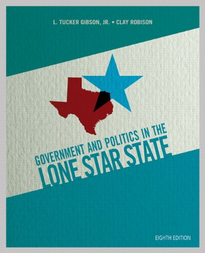 Government and Politics in the Lone Star State 9780205927067