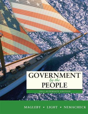 Government by the People, 2011 Alternate Edition 9780205828456