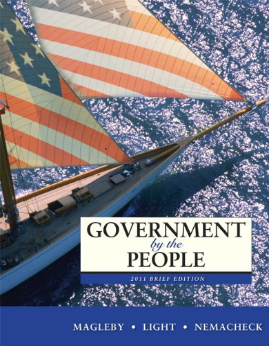 Government by the People, Brief Edition 9780205806706