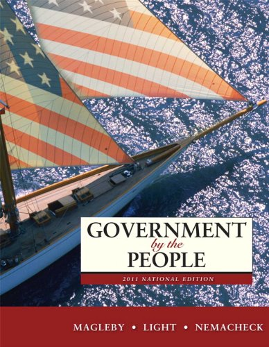 Government by the People, National Edition 9780205828401