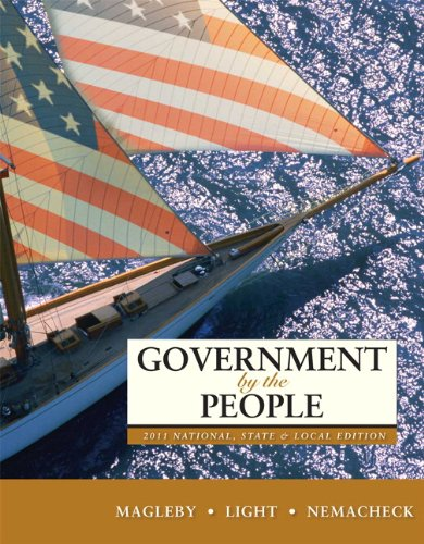 Government by the People, National, State, and Local Edition 9780205828432