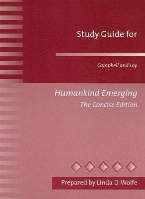 Humankind Emerging 9780205337231