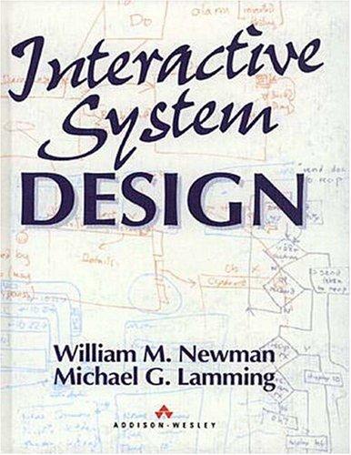 Interactive System Design 9780201631623