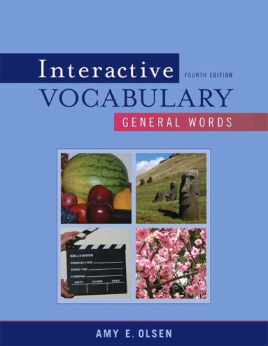 Interactive Vocabulary: General Words 9780205632718