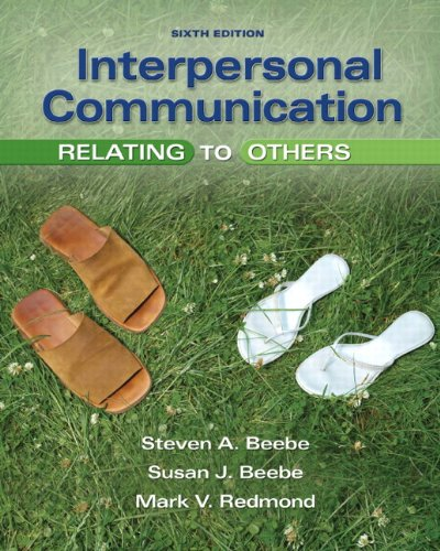 Interpersonal Communication: Relating to Others