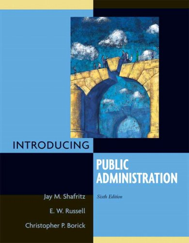 Introducing Public Administration 9780205607679