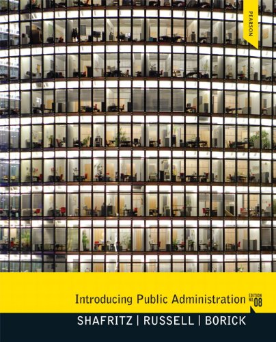 Introducing Public Administration 9780205855896