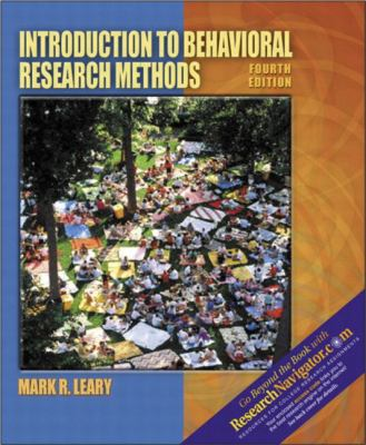 Introduction to Behavioral Research Methods with Research Navigator 9780205396764