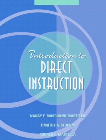 Introduction to Direct Instruction 9780205377619