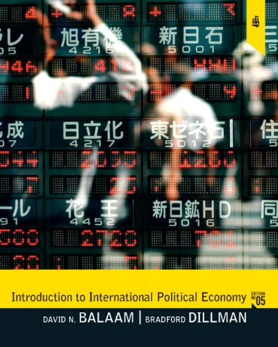 Introduction to International Political Economy 9780205791385