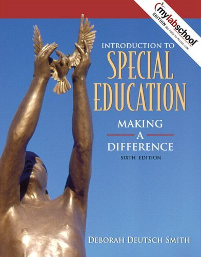 Introduction to Special Education: Making a Difference [With Mylabschool Access Code] 9780205498055