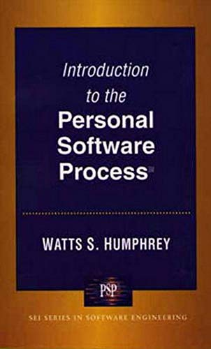 Introduction to the Personal Software Process(sm) 9780201548099