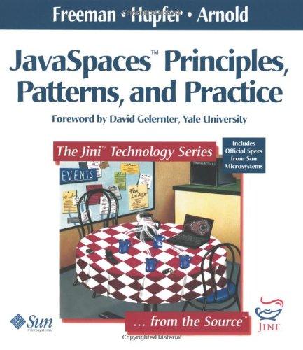 Javaspaces(tm) Principles, Patterns, and Practice 9780201309553