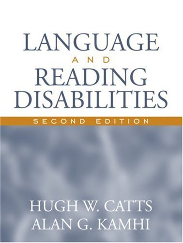 Language and Reading Disabilities 9780205444175