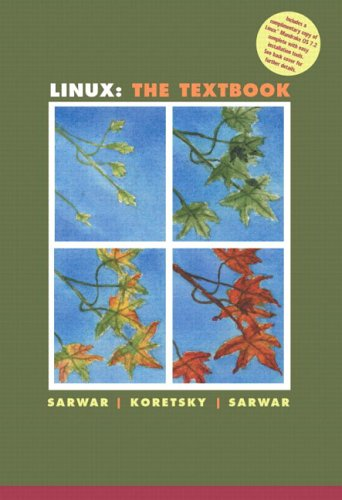 Linux: The Textbook 9780201725957