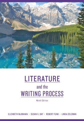 Literature and the Writing Process 9780205745050
