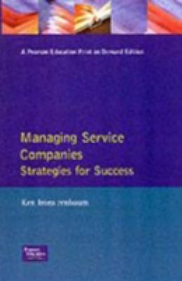 Managing Service Companies 9780201624267