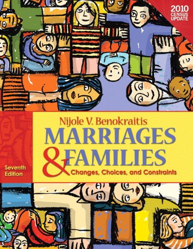 Marriages & Families, Census Update: Changes, Choices, and Constraints 9780205006731