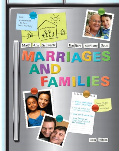 Marriages and Families: Diversity and Change 9780205683147
