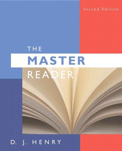The Master Reader 9780205617548